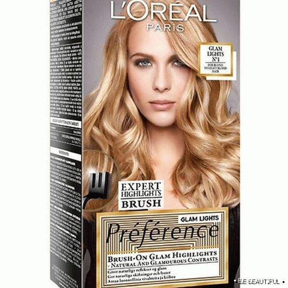 L'oreal Preference Glam Lights